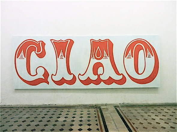 Thomas Berra, CIAO, room galleria rossella farinotti labrouge