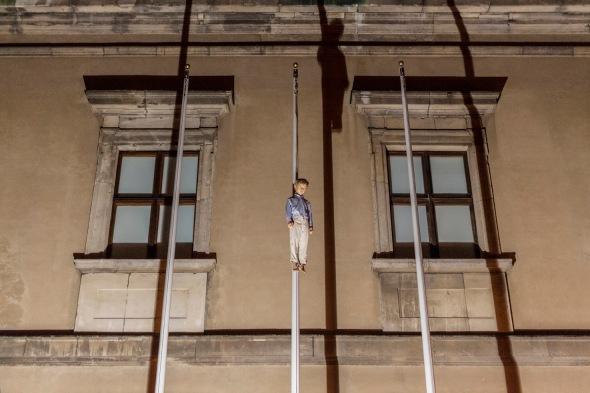 7-Maurizio Cattelan, Untitled 2004, _Amen_ 2012, Ujazdowski Castle, Warsaw, photo Zeno Zotti
