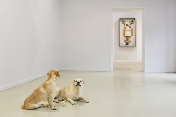 8-Maurizio Cattelan, Untitled 2007, Untitled 2007, _Amen_ 2012, Ujazdowski Castle, Warsaw, photo Zeno Zotti
