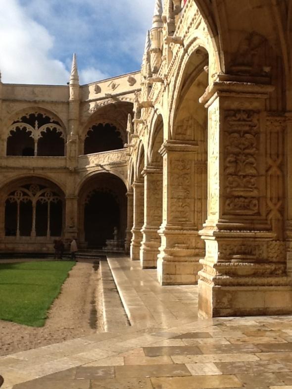 lisbon story II parte Belem monastero dos jeronimos chiostro particolare rossella farinotti labrouge