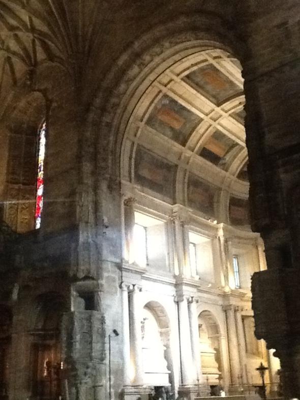 lisbon story II parte Belem monastero dos Jeronimos interno  rossella farinotti labrouge