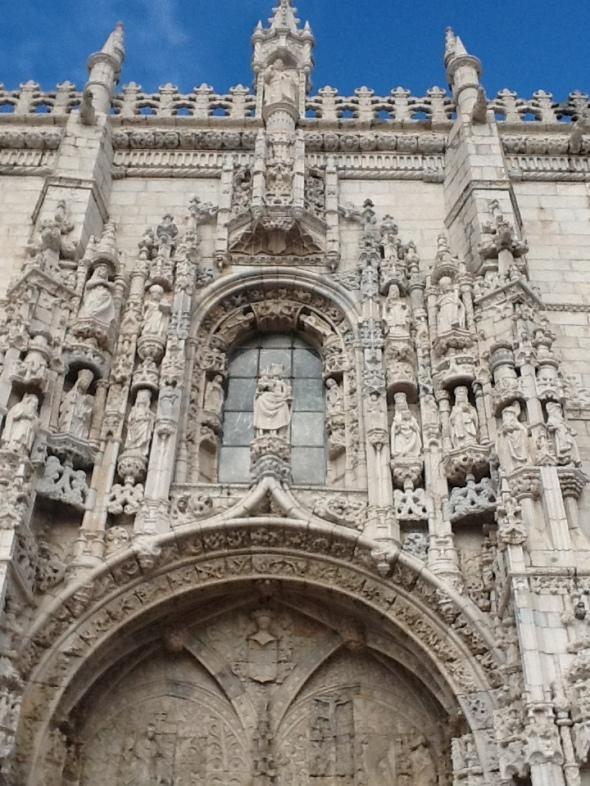 lisbon story II parte Belem monastero dos Jeronimos particolare del portale  rossella farinotti labrouge
