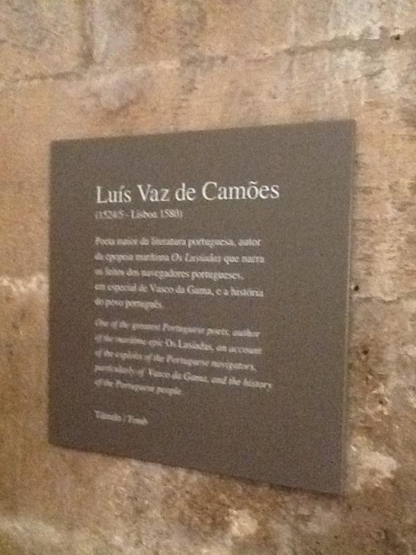 lisbon story II parte Belem monastero dos Jeronimos tomba de Camoes rossella farinotti labrouge