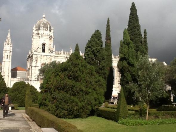 lisbon story II parte Belem vista del monastero dos Jeronimos rossella farinotti labrouge