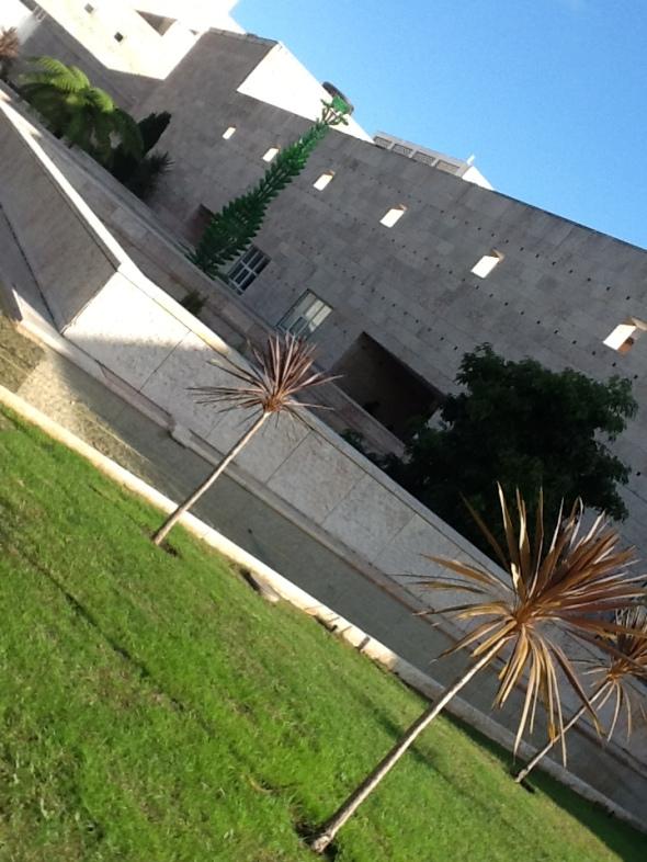 lisbon story II parte  Centro culturale di Belem giardino