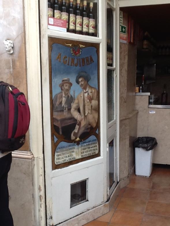Lisbon story la città portoghese e il posto storico della Ginja  rossella farinotti labrouge