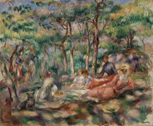 jean auguste renoir le dejeuner sur l herbe rossella farinotti labrouge