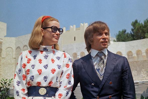 Monaco Princess Grace Kelly with Rudolf Nureyev
