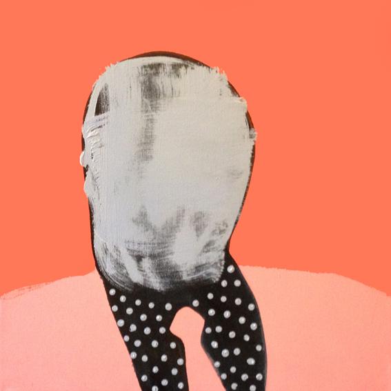 PIERGIORGIO DEL BEN - Anonymous - Num.25 - 50x50cm