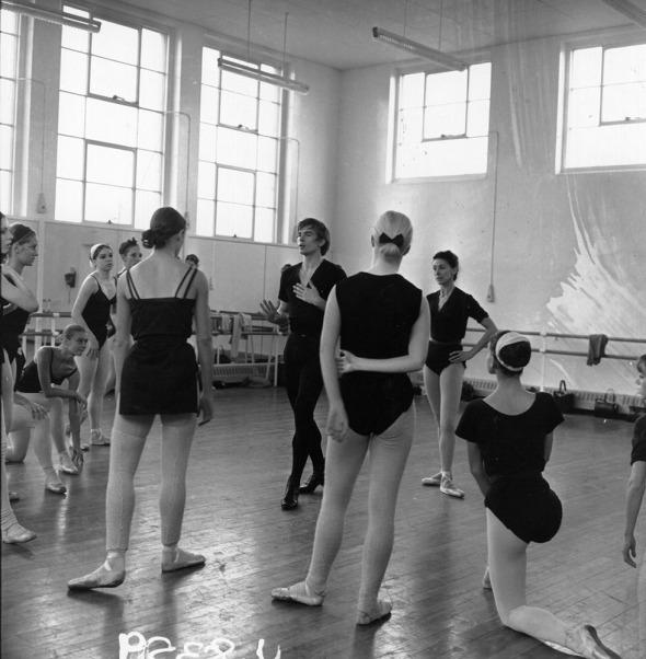 Nureyev Teaching