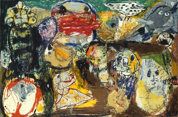Letter to my Son 1956-7 by Asger Jorn 1914-1973