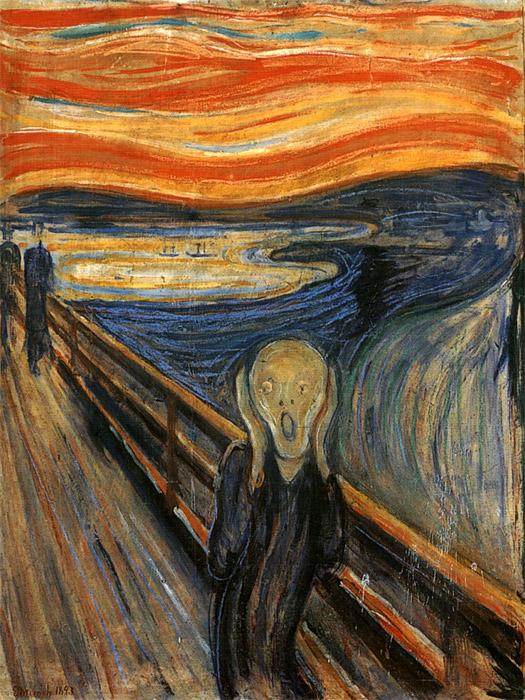 urlo di Edward Munch i Miserabili rossella farinotti labrouge