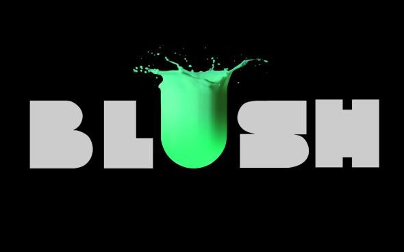 Blush contemporary art Blush_Nero rossella farinotti labrouge
