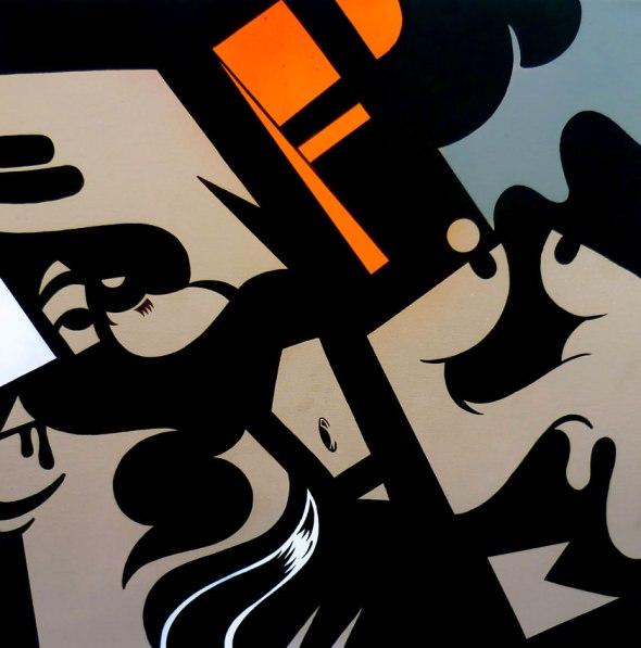 Blush contemporary art ERICSONE-Fuck-Pt1 rossella farinotti labrouge