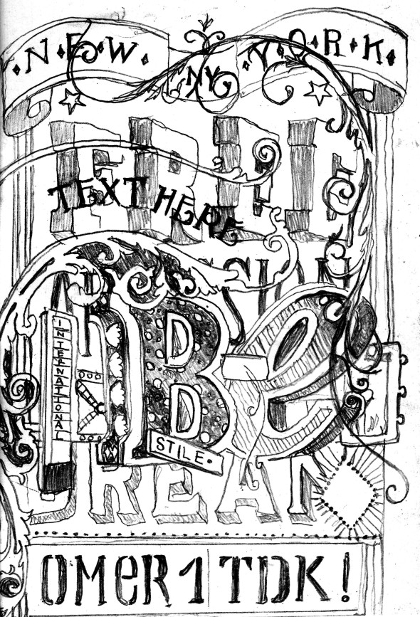 Federico Unias aka Omer - sub culture fanzine project by thomas berra