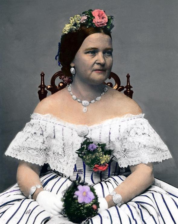 le mogli dei presidenti Oscar 2013 mary-todd-lincoln-1818-1882 rossella farinotti labrouge