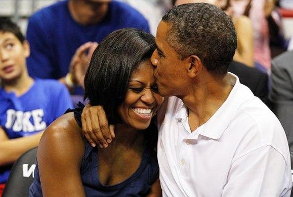 le mogli dei Presidenti Oscar 2013 Michelle e Barak Obama rossella farinotti labrouge