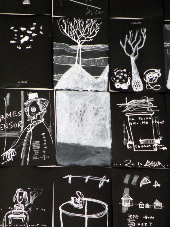 personale di Thomas Berra allo spazio Wilson Project Sassari labrouge