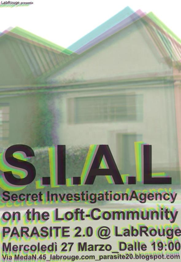 S.I.A.L. Parasite 2.0 @LabRouge