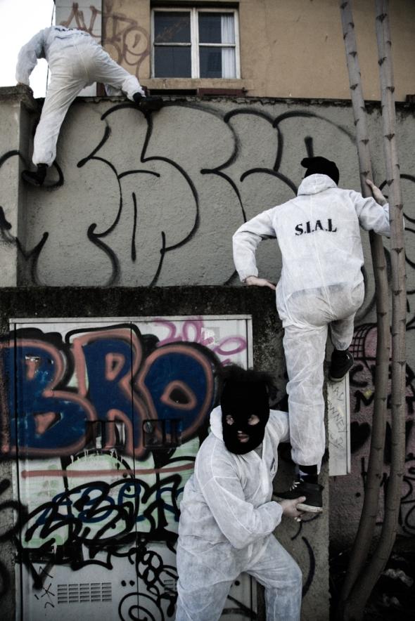 S.I.A.L. Secret Investigation Agency on the Loft community progetto dei Parasite 2.0. per Labrouge foto di L. Condorelli