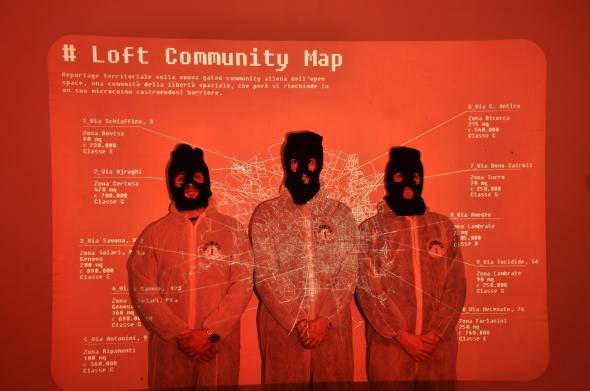 S.I.A.L. Secret Investigation Agency on the Loft community progetto dei Parasite 2.0. per Labrouge via Meda foto di L. Condorelli