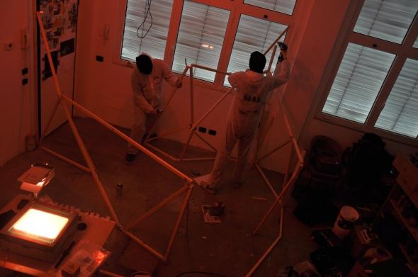S.I.A.L. Secret Investigation Agency on the Loft community progetto dei Parasite 2.0. per lo spazio Labrouge foto di L. Condorelli