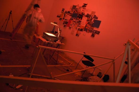 S.I.A.L. Secret Investigation Agency on the Loft community progetto dei Parasite 2.0. per Spazio Labrouge  foto di L. Condorelli