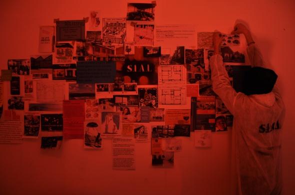 S.I.A.L. Secret Investigation Agency on the Loft community progetto dei Parasite 2.0. per Spazio Labrouge  via meda foto di L. Condorelli