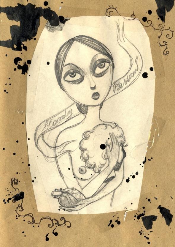 Shanti Ranchetti - sub culture fanzine project by thomas berra
