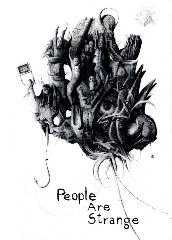Stefano Ronchi - sub culture fanzine project by thomas berra