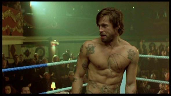 Educazione Siberiana e del tatuaggio, Snatch Brad Pitt il tattoo nel cinema labrouge