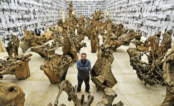 Ai Wei Wei never sorry l'artista  cinese labrouge