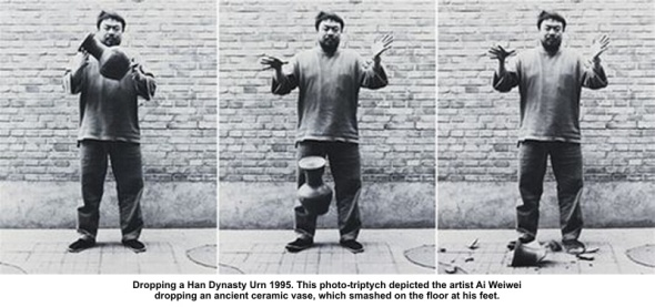 Ai Wei Wei never sorry l'artista sovversivo cinese dropping-a-han-dynasty labrouge