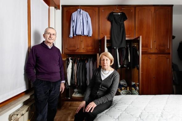 pietro baroni milan closet Francesco e Silvana pensionati labrouge