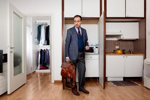 pietro baroni milan closet labrouge Adelmo, agente assicurativo