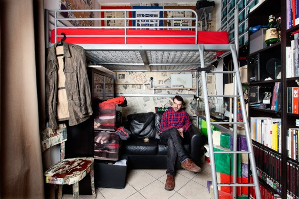 pietro baroni milan closet labrouge Klodian artista
