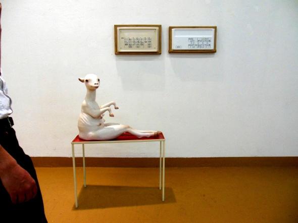 Thomas Berra & Monika Grycko galleria  Bianca Maria Rizzi e Matthias Ritter via Cadolini milano labrouge