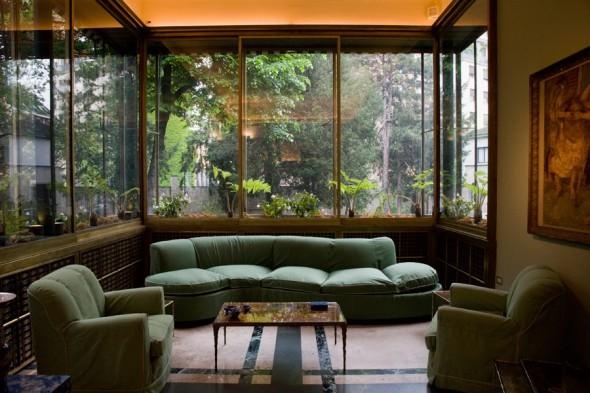 villa necchi campiglio Milano FAI il salotto via Mozart labrouge