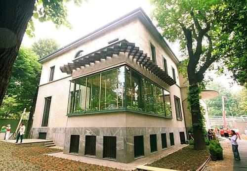 Milano 27052008 VILLA NECCHI CAMPIGLIO Restaurata