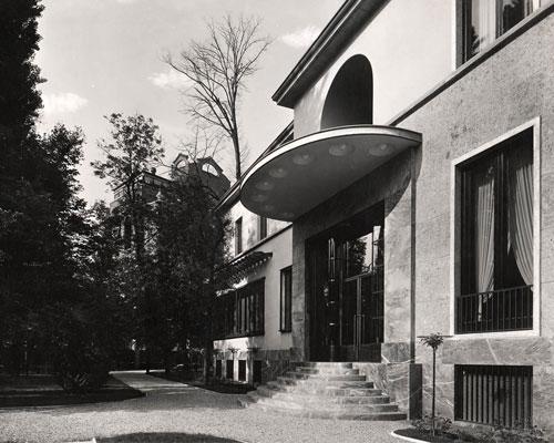 villa necchi campiglio Milano via Mozart FAI  labrouge