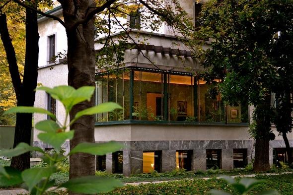 Villa-Necchi-Campiglio Milano via Mozart FAI labrouge