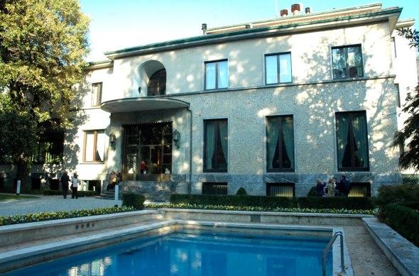 villa necchi campiglio Milano via Mozart labrouge