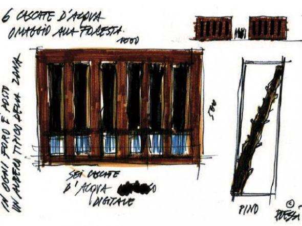 il plessi Museum il museo dedicato all artista italiano bozzetto cascate d'acqua labrouge