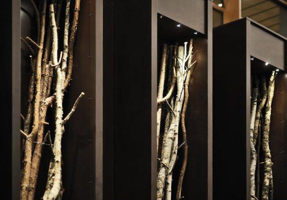 il plessi Museum sull'autostrada del Brennero dedicato all artista italiano installazione legno labrouge