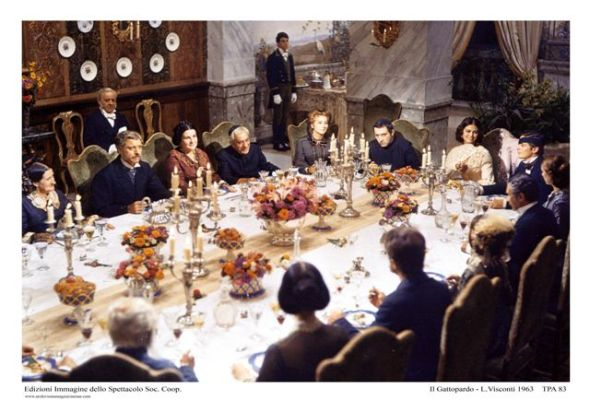 IL gATTOPARDO mezzo secolo fa riunione famigliare , di Pino Farinotti labrouge
