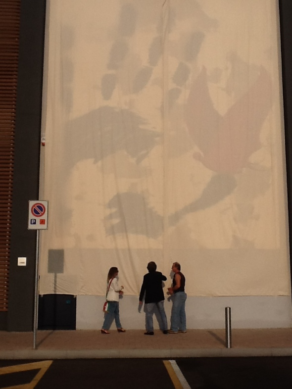 art4shop crivellaro opera velata mostra a san giuliano l arte incontra l'impresa labrouge