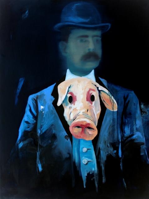 ephemeral, olio su tela, 90x120cm,2011
