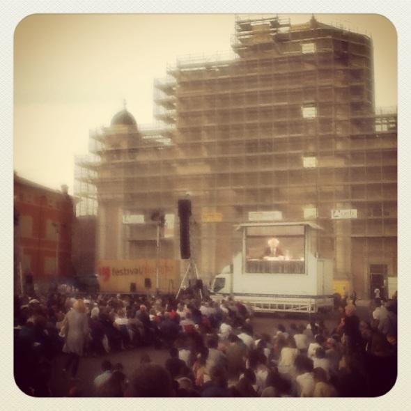 festival della filosfia a carpi l'amare labrouge Bauman in piazza