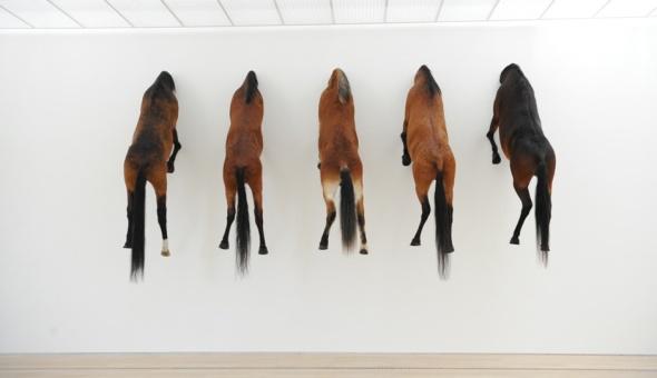 Maurizio Cattelan, Untitled 2013, ph. Zeno Zotti
