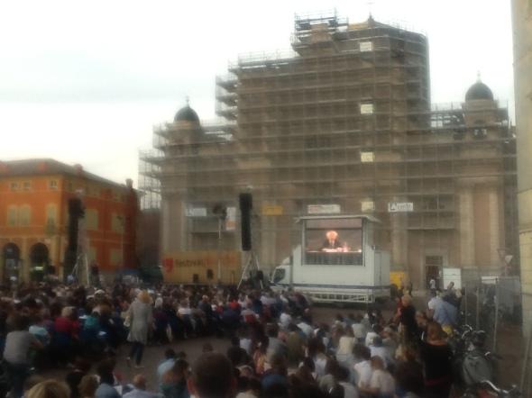 piazza carpi Bauman festival della filosfia a carpi l'amare labrouge